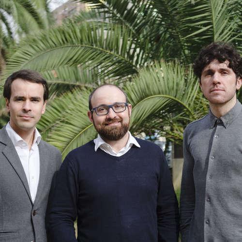 Jordi Oliver-Solà, Ramon Farreny y Markel Cormenzana