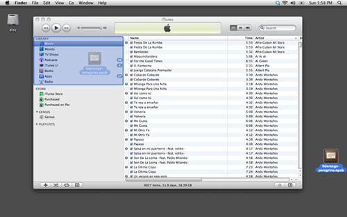 Añadir ePub a iTunes