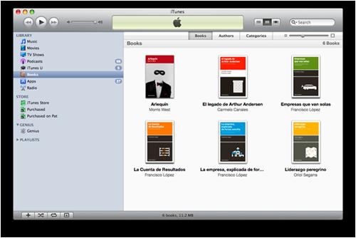 Libros de Cabecera en iTunes